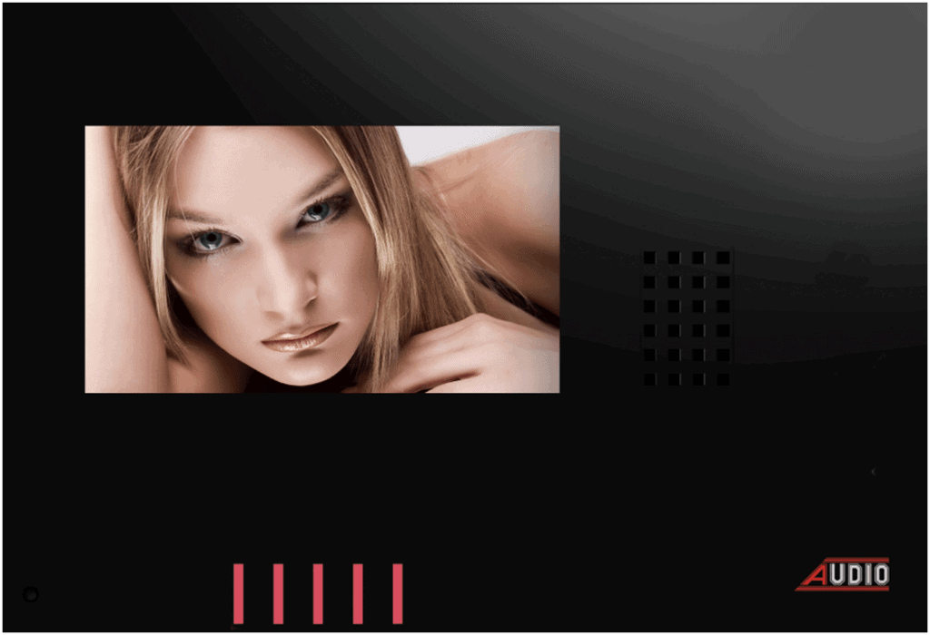 GDM 4,3″ Style Touch Audio Görüntülü Diyafon