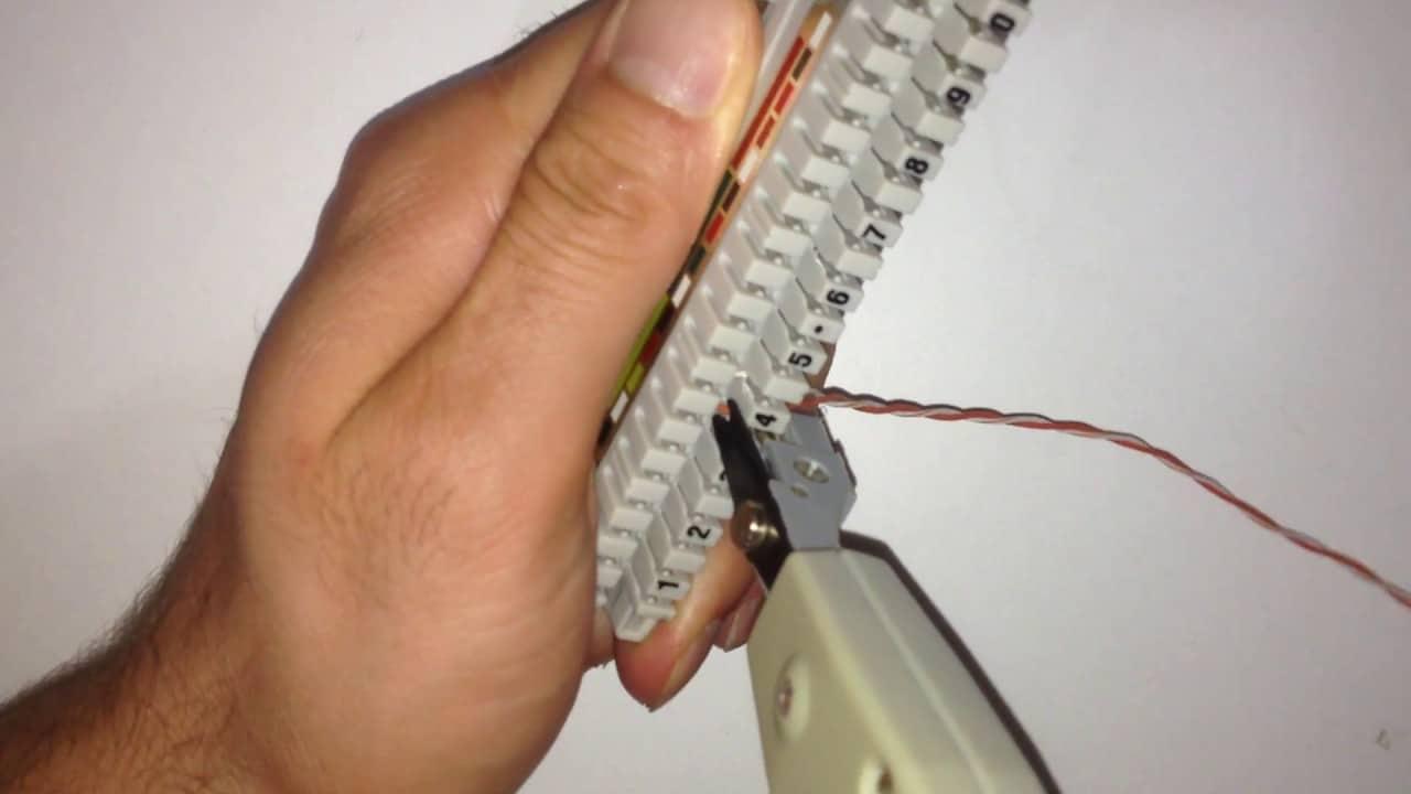 Ankastre kablo bağlantısı